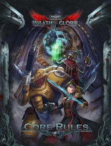 Warhammer 40,000 Roleplay: Wrath & Glory Core Rulebook (Hardcover)